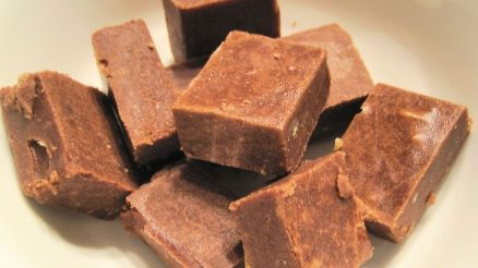 Amandelboter fudge