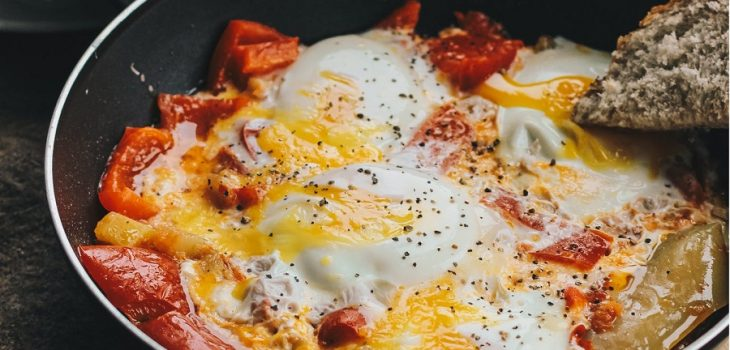 Omelet met bacon