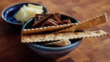 Parmezaanse cracker
